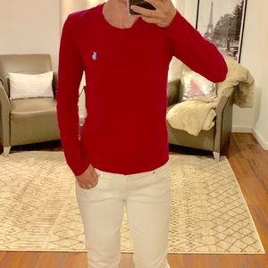 Polo Ralph Lauren Fuschia Pink Long Sleeve SP